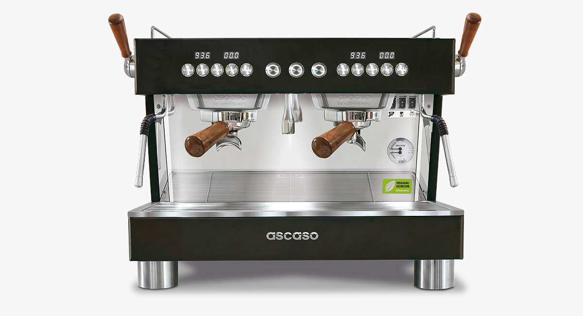 BaristaT Plus 2GR COMPACT Black&Wood